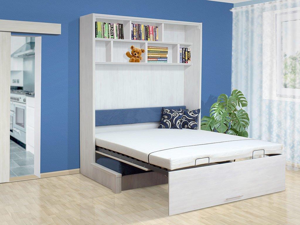 sklápacia posteľ s pohovkou VS 1063P, 200x140cm