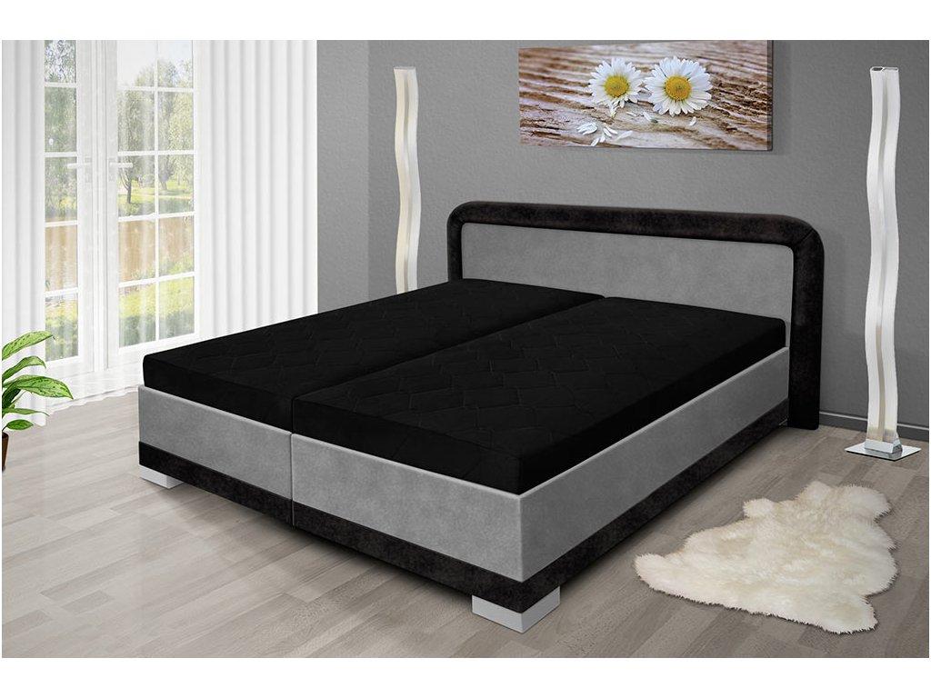 Manželská posteľ s úložným priestorom JARO 200x160