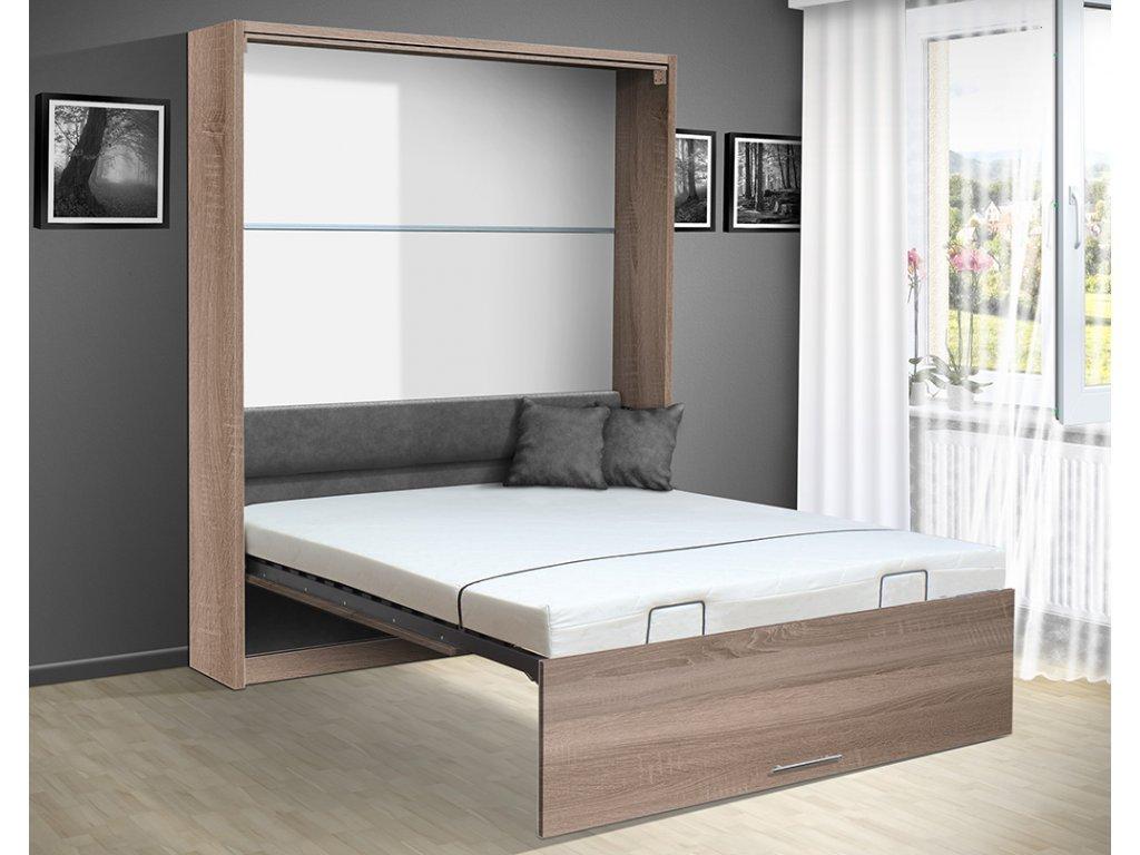 Sklápacia posteľ VS 1054 P - 200x160 cm