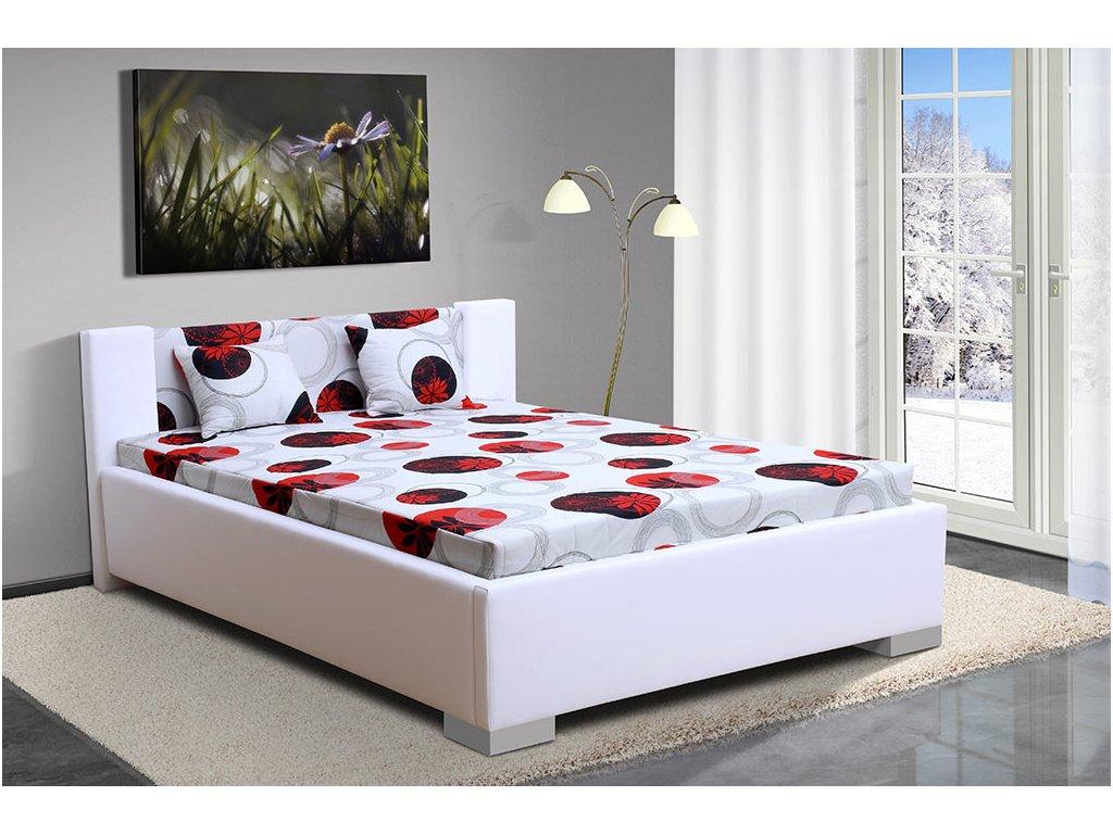 Čalúnená posteľ 140x200cm Marco