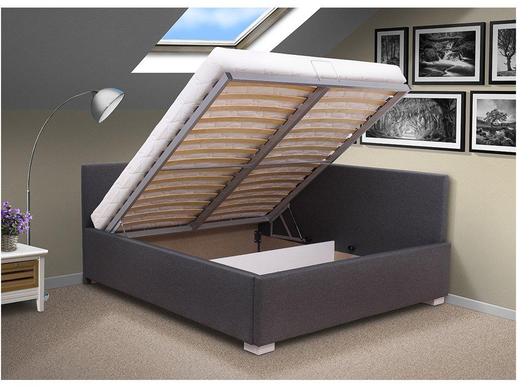 Manželská posteľ s čelami Martina 140x200 cm