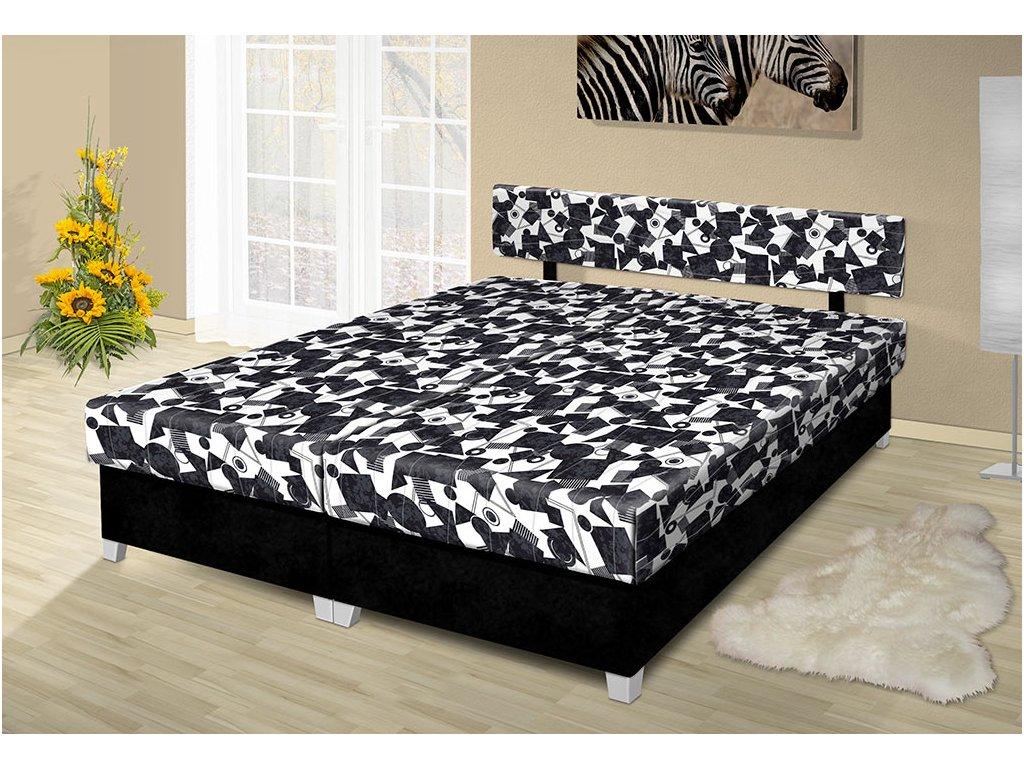 Manželská posteľ s úložným priestorom Adéla 160x200 cm