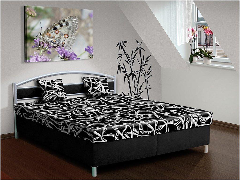 Čalúnená posteľ s úložným priestorom Bruno 170