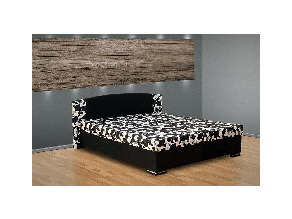 Manželská posteľ s úložným priestorom Kamila