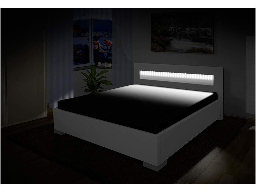 Luxusná posteľ s úložným priestorom Mia 180x200 cm