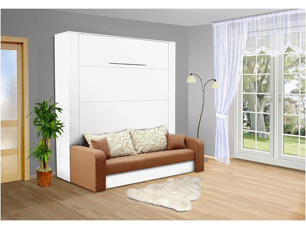 Sklápacia posteľ s pohovkou VS 1059P, 200x160
