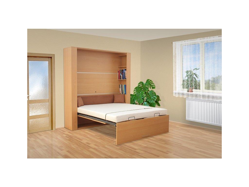 Výklopná posteľ VS1060P, 200x180cm