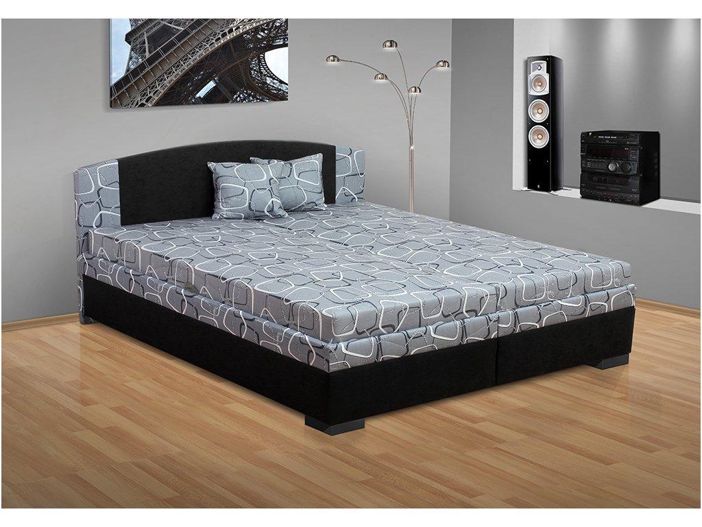Manželská posteľ s úložným priestorom Lora 160x200