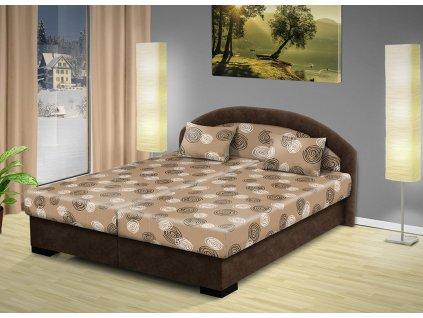Manželská posteľ s úložným priestorom Lenka 170x200 cm