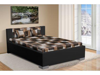 Čalúnená posteľ s úložným priestorom 140x200cm Marco