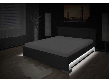 Luxusná posteľ s úložným priestorom Luna 180x200 cm