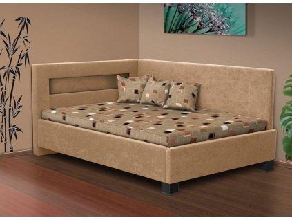 Čalúnená posteľ s úložným priestorom Mia Robin