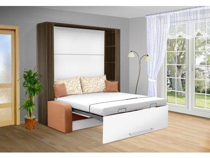 Sklápacia posteľ s pohovkou VS 1059P . 200x140