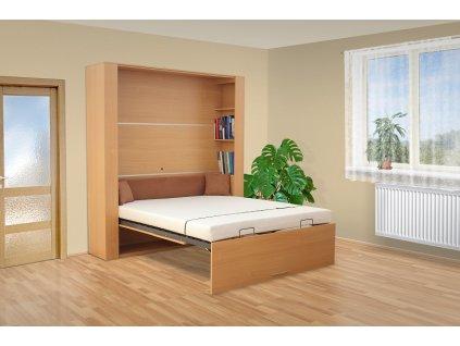 Výklopná posteľ VS1060P, 200x160cm
