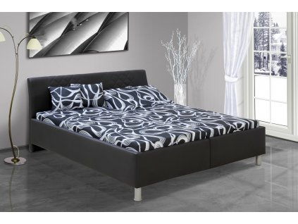 Manželská posteľ s úložným priestorom Julius